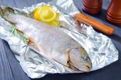 Raw fish Royalty Free Stock Photo