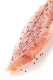 Raw fish fillet. Stock Photos