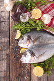 Raw fish Stock Image