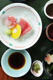 Raw fish japanese food Stock Photo