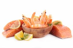 Raw fish Royalty Free Stock Images