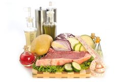 Raw food Stock Images