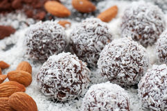 Raw Food Candy Balls Royalty Free Stock Photo