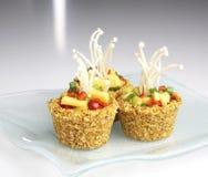 Raw food - cupcake Royalty Free Stock Image