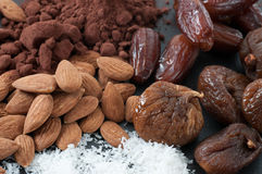 Raw Food Ingredients Royalty Free Stock Images