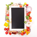 Raw food,recipe concept Royalty Free Stock Photo