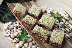 Raw food sweets Stock Photo