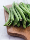 Raw French beans Stock Photo