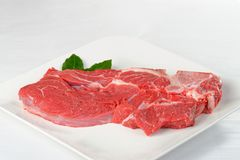 Raw fresh beef pork fillet Royalty Free Stock Photo