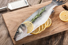 Raw fresh fish Stock Image