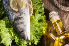 Raw fresh fish Royalty Free Stock Photography