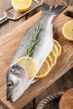 Raw fresh fish Stock Images