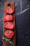Raw fresh marbled meat Steak Stock Photo