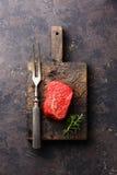 Raw fresh marbled meat Steak Stock Photos