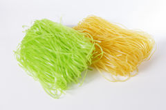 Raw fresh noodles. In Thai style (Korat noodles Royalty Free Stock Images