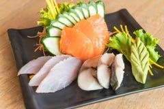 Raw fresh sashimi Royalty Free Stock Image