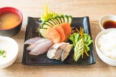 Raw fresh sashimi Royalty Free Stock Photo