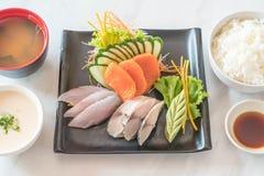 Raw fresh sashimi Royalty Free Stock Images