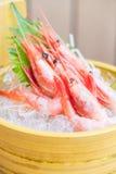 Raw and fresh shrimp sashimi Royalty Free Stock Photography