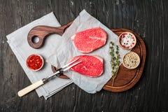 Raw fresh Tender Steak Royalty Free Stock Images