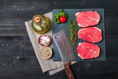 Raw fresh Tender Steak Royalty Free Stock Image