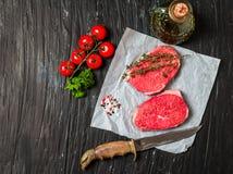 Raw fresh Tender Steak Royalty Free Stock Photography