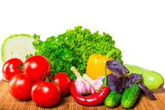 Raw fresh vegetables Stock Image
