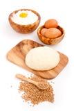 Raw freshyeast dough Royalty Free Stock Image