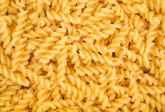 Raw fusilli pasta Royalty Free Stock Images