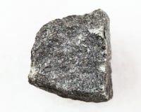 Free Raw Gabbro Stone On White Royalty Free Stock Photos - 113710648
