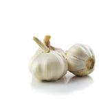 Raw garlic Stock Image