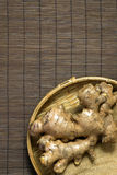 Raw ginger root Royalty Free Stock Photography
