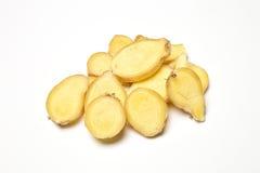 Raw Ginger Root Stock Photo