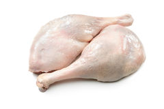 Raw goose legs Royalty Free Stock Image