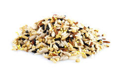 Raw grains Stock Photos