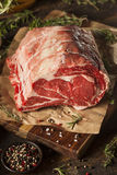 Raw Grass Fed Prime Rib Meat Royalty Free Stock Photo