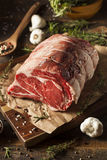 Raw Grass Fed Prime Rib Meat Royalty Free Stock Photos