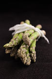 Raw green asparagus Royalty Free Stock Photography