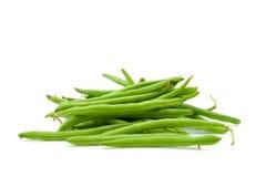 Raw green beans Stock Photo