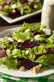 Raw Green Beet and Arugula Salad Stock Photo