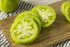 Free Raw Green Organic Tomatoes Royalty Free Stock Images - 123485759
