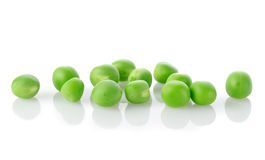Raw green peas isolated Royalty Free Stock Image