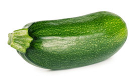 Raw green zucchini Stock Image
