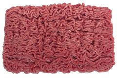 Raw ground beef. royalty free stock photo