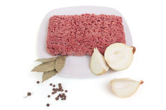 Raw ground beef Stock Photography