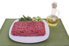 Raw ground beef Stock Photos