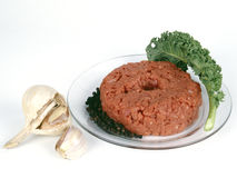 Raw ground beef mince Stock Photography