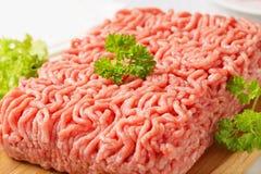 Raw ground pork Royalty Free Stock Image