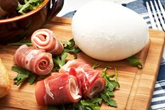 Raw ham Stock Images