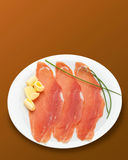 Raw ham Royalty Free Stock Photo